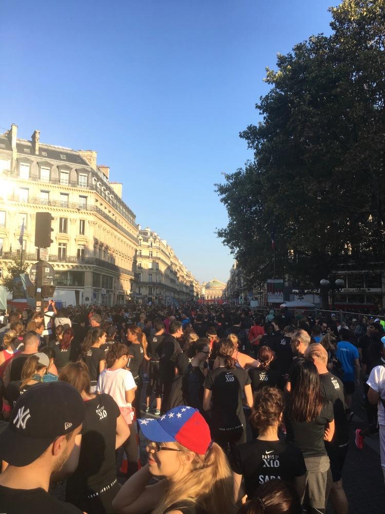 SAS 10km Paris centre