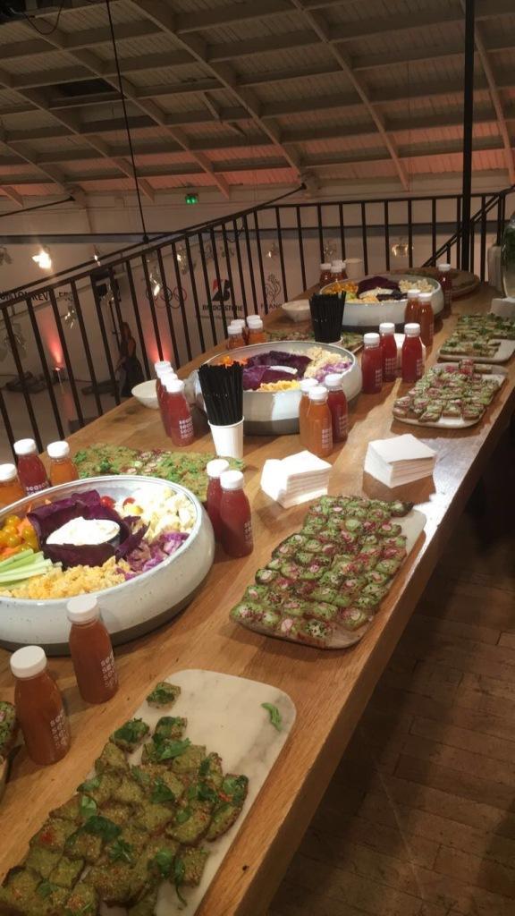 buffet sain, bio légumes
