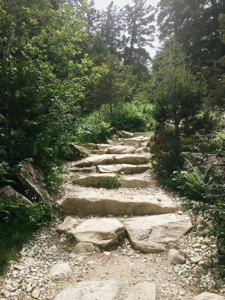 Chemin lac de Gaube